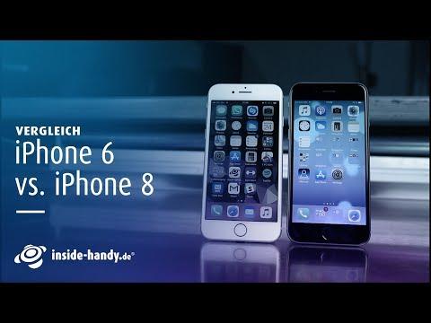 Vergleich: IPhone 6 Vs. IPhone 8 | Deutsch