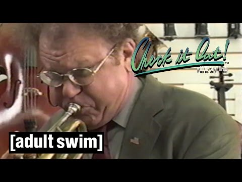 Bugle Boy | Check it Out! with Dr Steve Brule SEASON 4 PREVIEW | Adult Swim