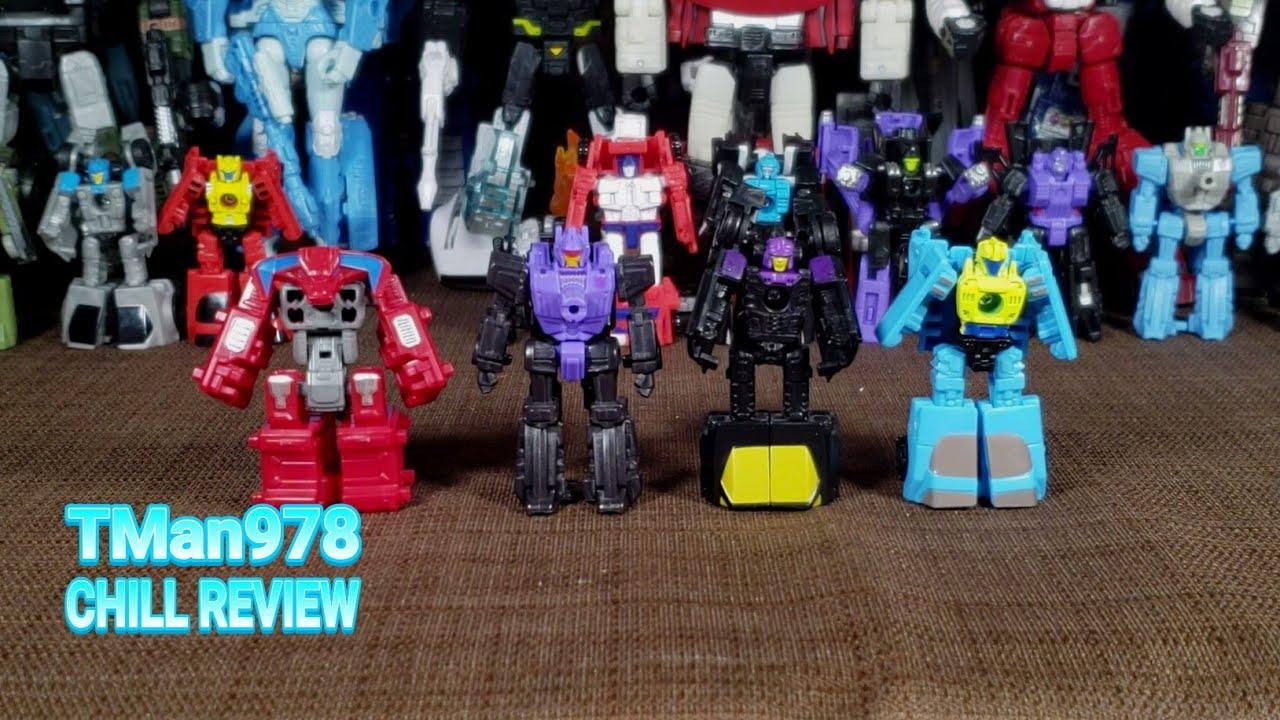 Transformers WFC SIEDE War For Cybertron Battle Masters Caliburst /& Smashdown