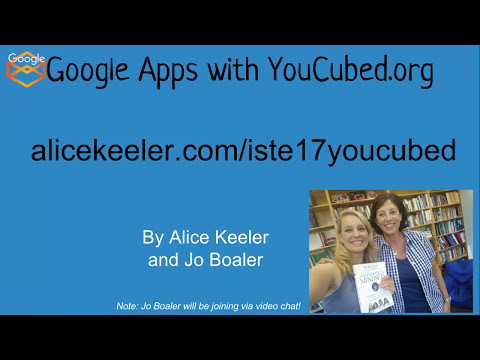Google Apps with YouCubed.org Math Activities