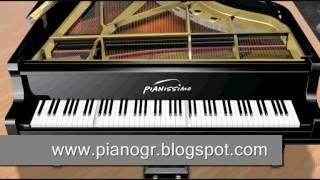 Greek songs on the piano-  Νησιώτικο στο πιάνο