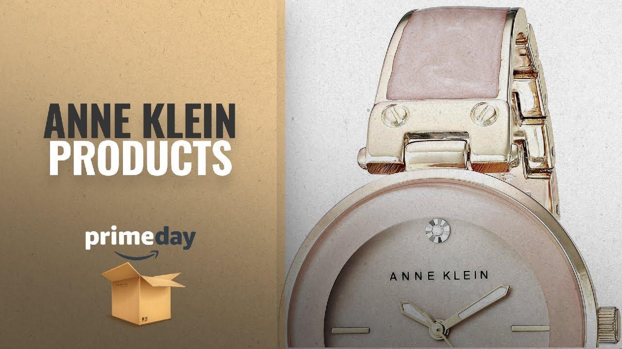 8ec003a20 Anne Klein Prime Day Deals For Women's: Anne Klein Women's AK/2512LPGB  Diamond-Accented Gold-Tone