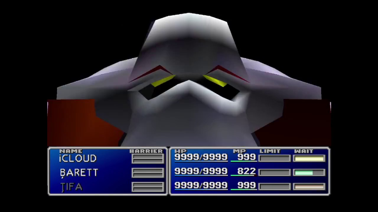 ff7 ultimate weapon wont land