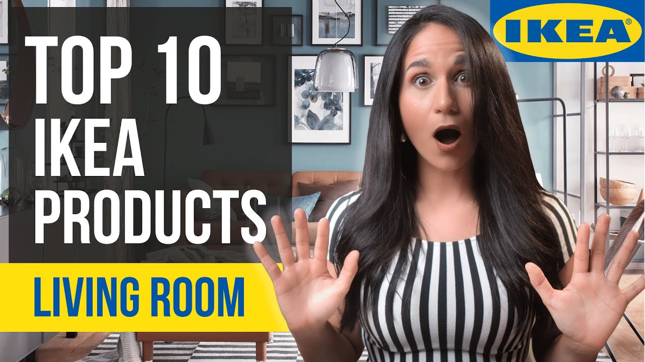 TOP 10 IKEA INTERIOR DESIGN ITEMS for Living Room | Ideas and Tips for Home Decor with IKEA