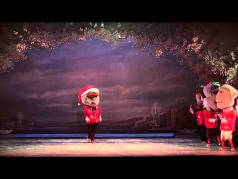 The Washington Ballet presents The Nationals GEICO Racing Presidents at The Nutcracker