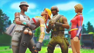 Two RAREST SKINS IN FORTNITE Go in To SQUAD FILL PICKING UP GIRLS.. ( HILARIOUS )