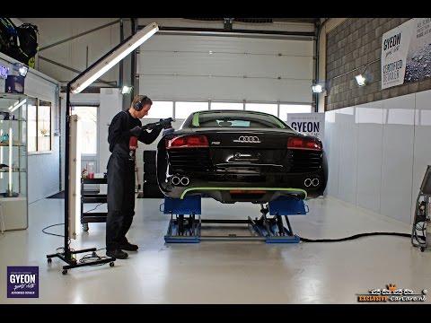 High-end Car Detailing demo video - Audi R8 exclusive detailing behandeling