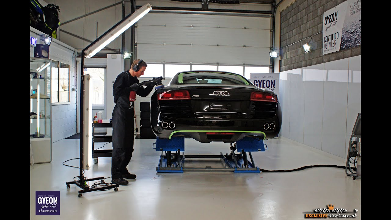 High End Car Detailing Demo Video Audi R8 Exclusive Detailing Behandeling