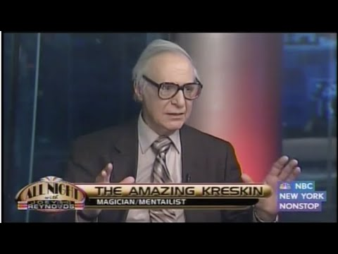 All Night With Joey Reynolds: S1 E36 | The Amazing Kreskin | Theodore Mann | The Uptown Band (2011)