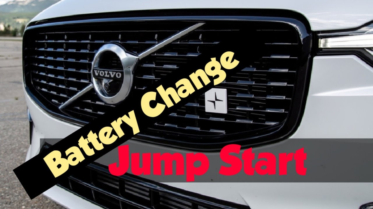 How To Change the battery Volvo XC90/XC60/S60/S90 2020 New Platform + Jump-Start Volvo