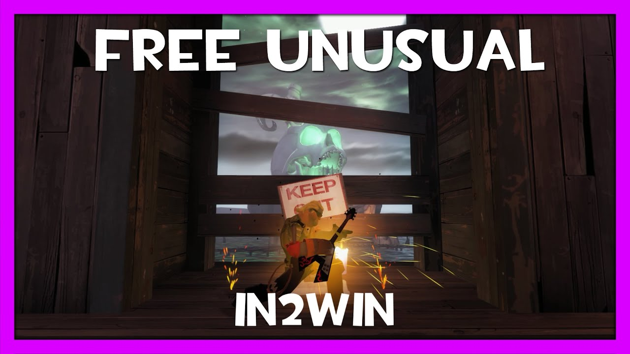 TF2 FREE UNUSUAL GIVEAWAY