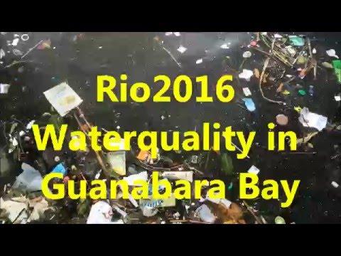 Rio2016 Waterquality in Guanabara Bay