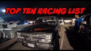 TOP TEN RACING LIST PT.2