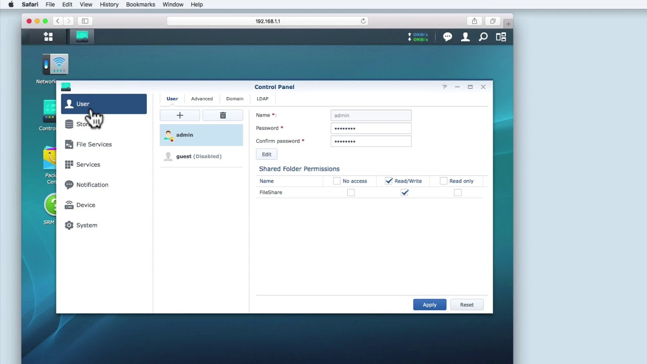 How to use your Synology Router as a File Server - Video of