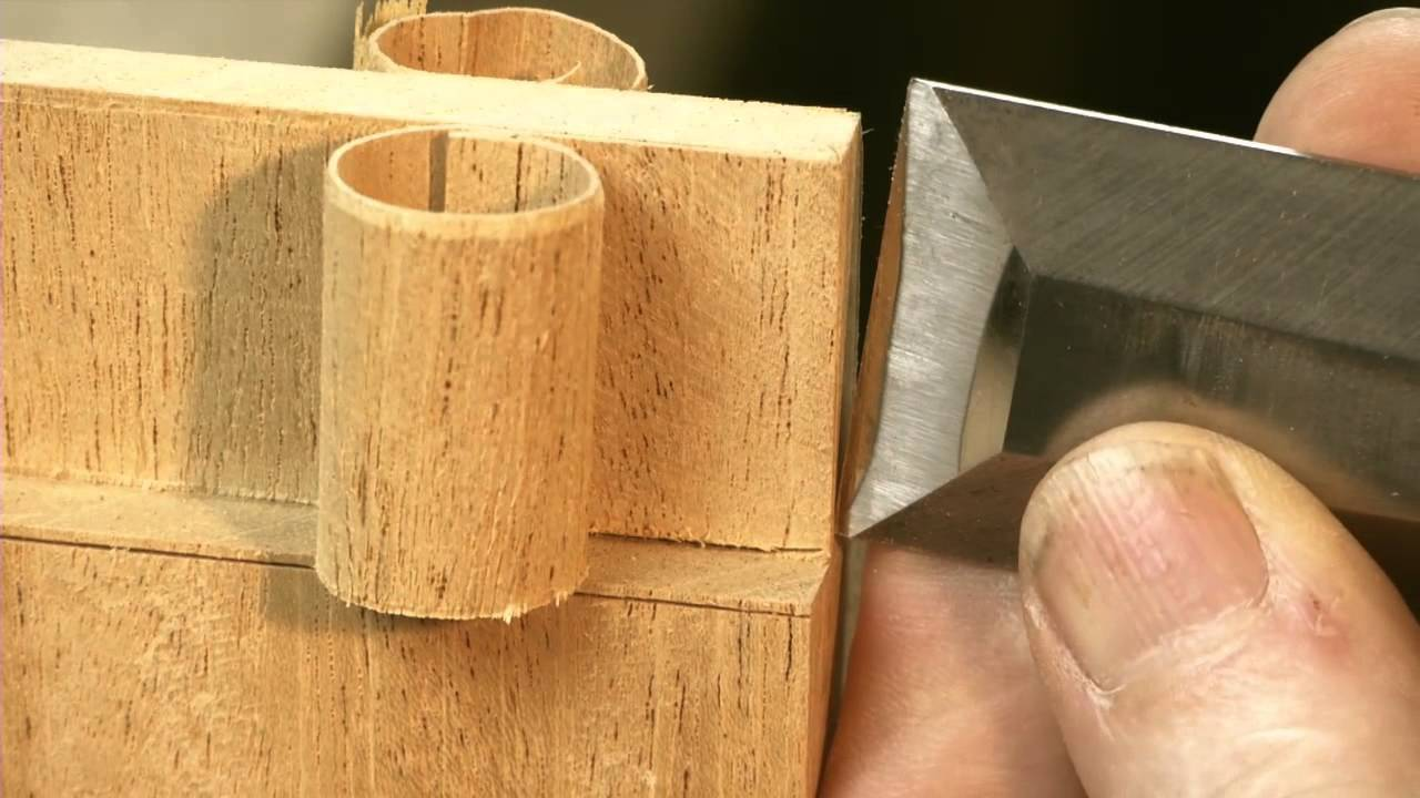 Chisel Tricks For Hand Cut Joinery Youtube
