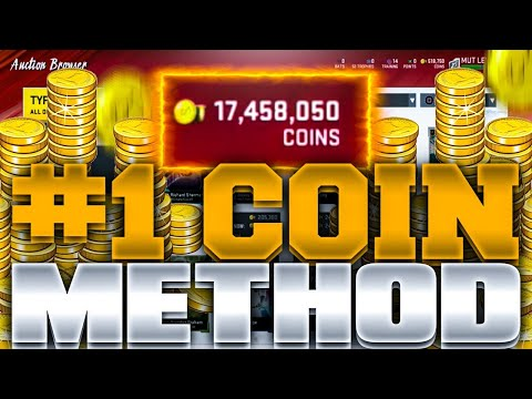 #1 COIN MAKING METHOD IN MADDEN 20!!   ULTIMATE GUIDE TO MAKE FAST COINS IN MADDEN 20!!