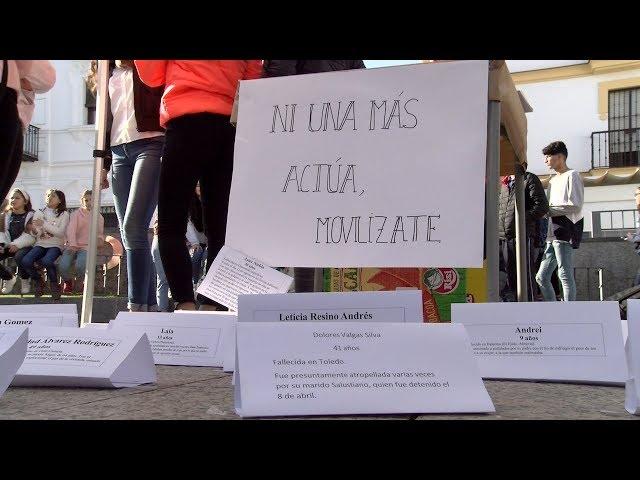 Reportaje   Los centros escolares cartayeros claman contra la violencia de género