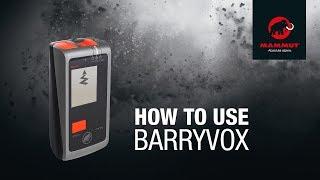 ARTVA Barryvox Package video