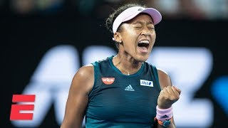 Naomi Osaka beats Petra Kvitova for second Grand Slam title | 2019 Australian Open Highlights