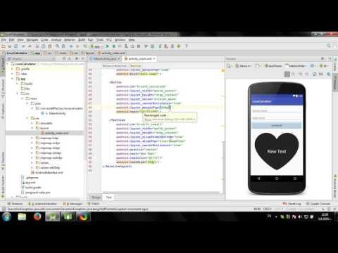 Develop simple Love Calculator in Android Studio