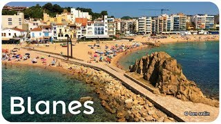 Blanes - Costa Brava, Catalonia, Spain (Full HD)