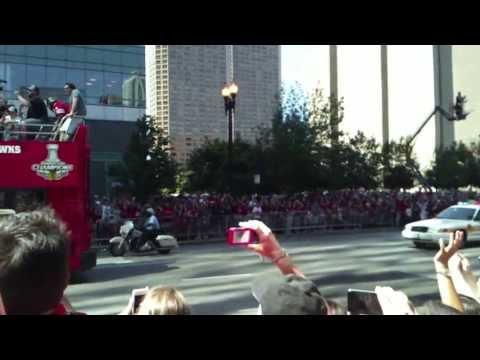 2013 Chicago Blackhawks Parade