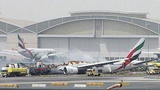 Самолет Emirates упал при заходе на посадку