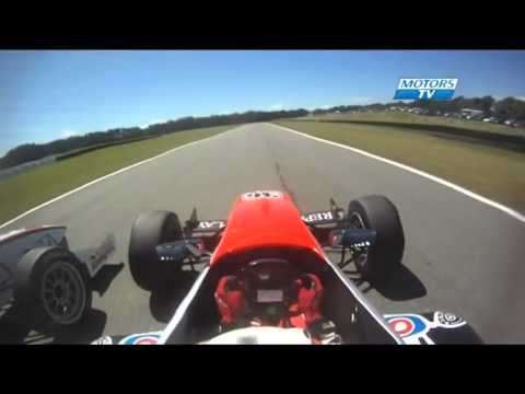Toyota Racing Series 2013 Course 3 Teretonga massive crash