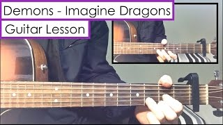 Demons - Imagine Dragons | Guitar Tutorial (Lesson) + Melody