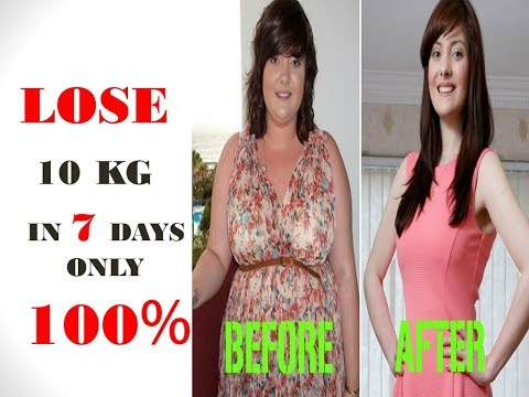HOW TO LOSS WEIGHT FAST 10Kg IN 7 DAYS In Hindi & Urdu | Loss Thighs And Bottocks Quikly |