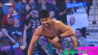 20 Finishers: 450 Splash (Justin Gabriel) [HD]