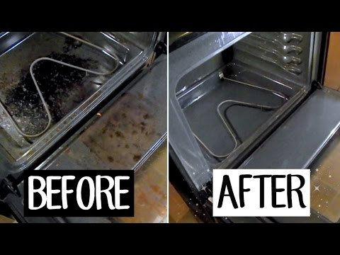 how-to-clean-your-oven-with-baking-soda-vinegar-||-bethany-fontaine