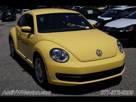 2012 Volkwagen Beetle 2.5 Yellow