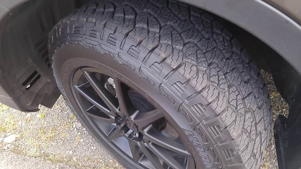Hankook Dynapro Atm 275 55r20 >> Hankook Dynapro Atm Rf10 Review Youtube