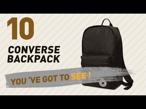Converse Backpack Great Collection, Just For You! // UK Best Sellers 2017