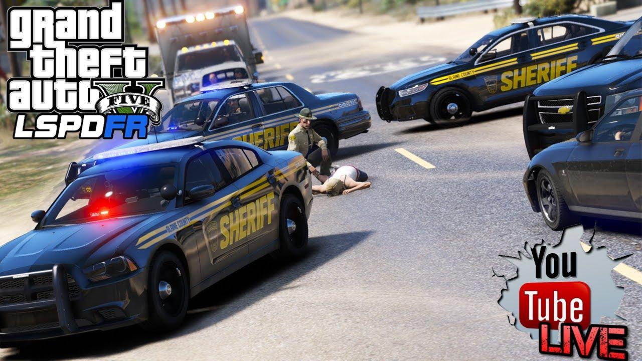 GTA 5- LSPDFR LIVE #42 | Blaine County Sheriff's Office