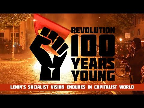 Revolution: 100 years young. Lenin's vision in capitalist world (Trailer) Premiere 6/11