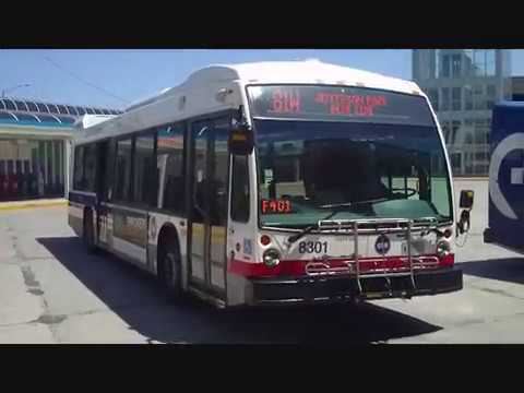 CTA #81W West Lawrence Avenue bus (EB trip) route from Cumberland (Blue Line) to Lawrence/Cumberland