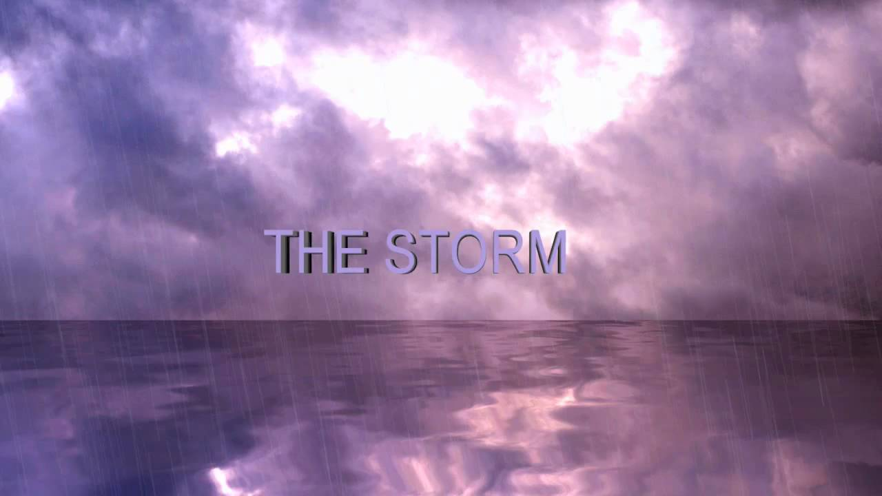 Adobe After Effects - The Storm (with Twitch, Rain Effect, Water ...