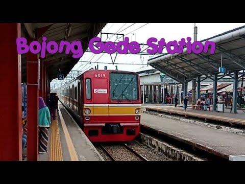 Kompilasi Kereta KRL Commuter Line di Stasiun Bojong Gede Train compilation at Bojong Gede Station