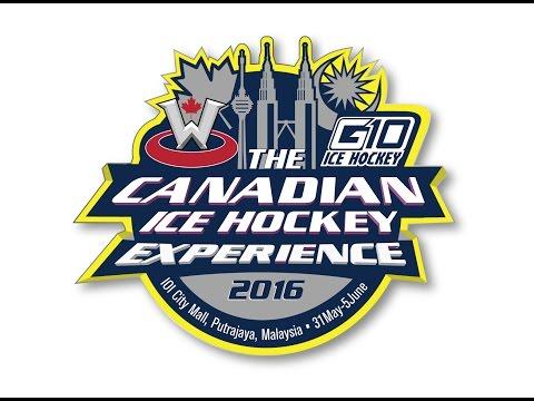 The G10 Canadian Ice Hockey Experience Camp 2016 - Kuala Lumpur, Malaysia