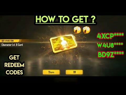 How To Get Free Level 8 Card , With Redeem Codes , How To ...