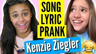 "Song Lyric Text Prank on Mackenzie Ziegler! ""I Hate You I Love You"""