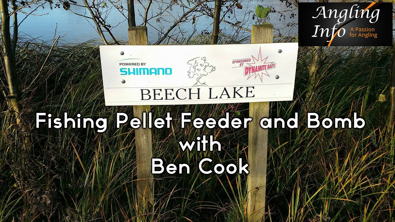 Fishing Pellet Feeder and Bomb