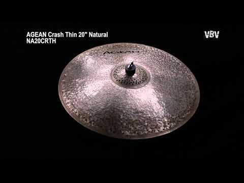 "20"" Crash Thin Natural video"