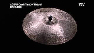 """20"""" Crash Thin Natural video"""