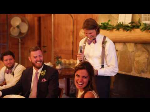 Amazing Older Brother Wedding Speech About Strong Women