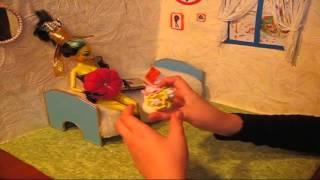 Как сделать Кукольный домик из картонных коробок Обзор Из бумаги Подарки Поделки своими руками