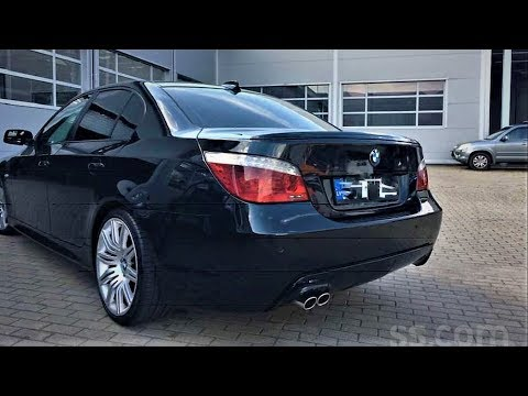 BMW 530D Е60 как не купить ГЭ... в красивой обертке!