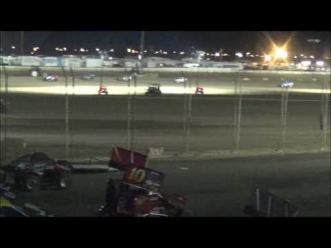 Imperial Valley Speedway Saturday 3-11-17 Dwarf Main Event